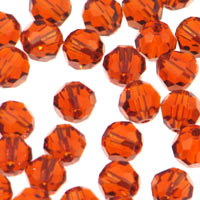 Swarovski Rounds 6mm Indian Red Qty:12
