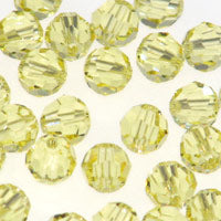 Swarovski Rounds 6mm #5000 Jonquil Qty:12