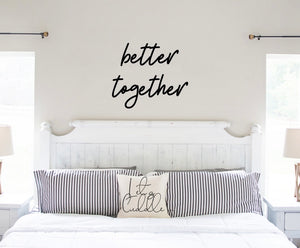 Better Together Wooden Word Cutout
