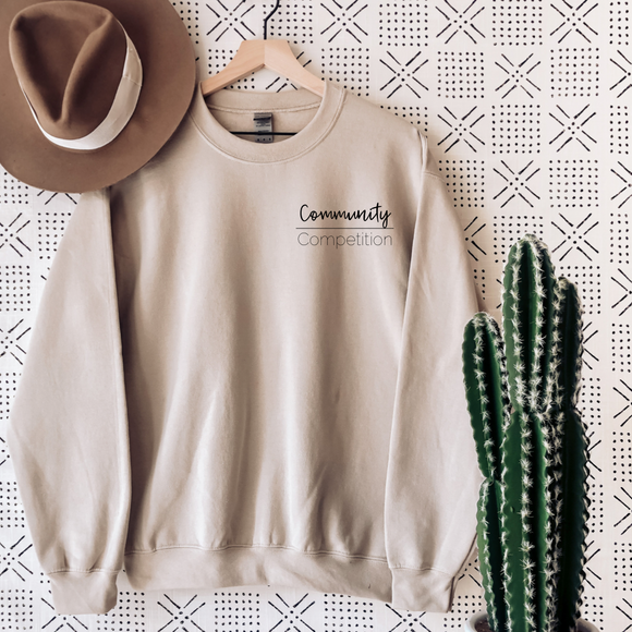 Community Over Competition Sweatshirt