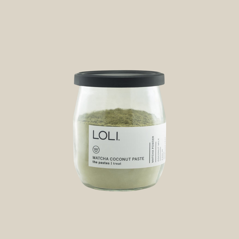 Loli Matcha Coconut Paste - The Beauty Doctrine