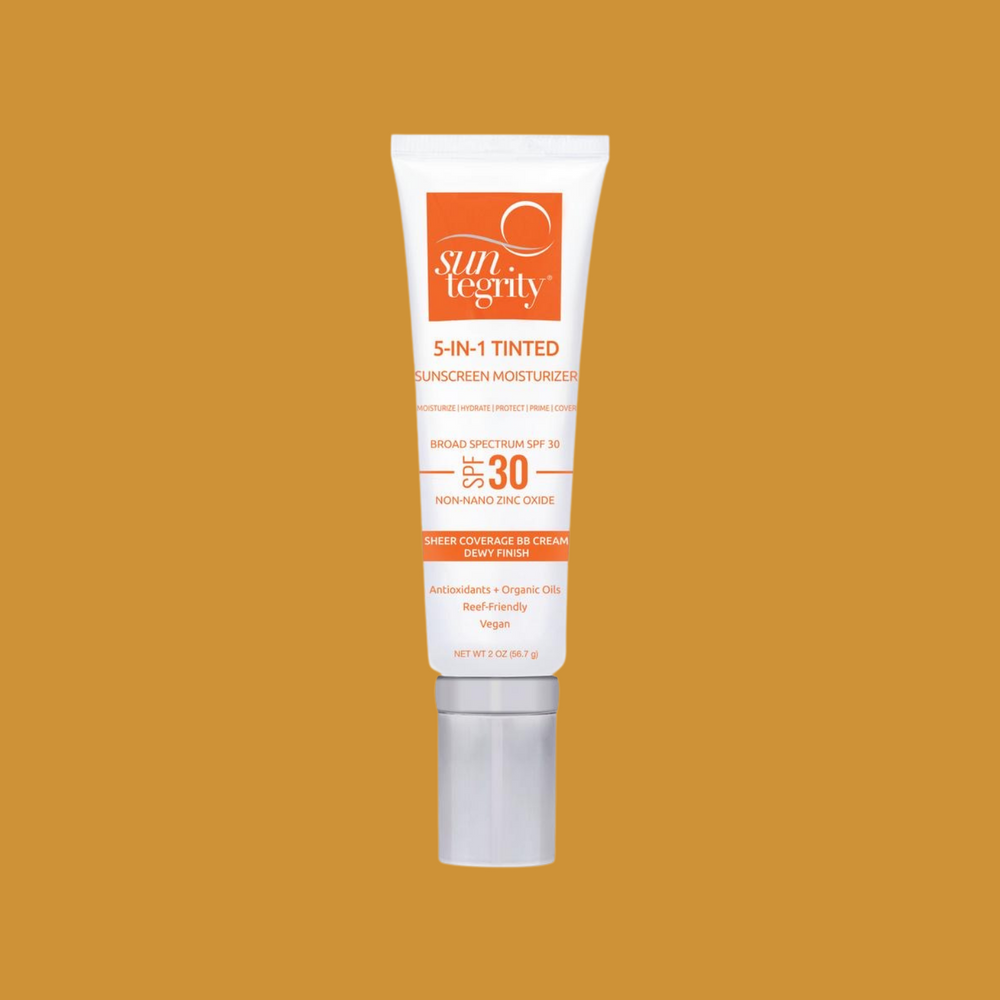 "The Beauty Doctrine - Suntegrity ""5 In 1"" Natural Moisturizing Face Sunscreen - Tinted, Broad Spectrum SPF 30"