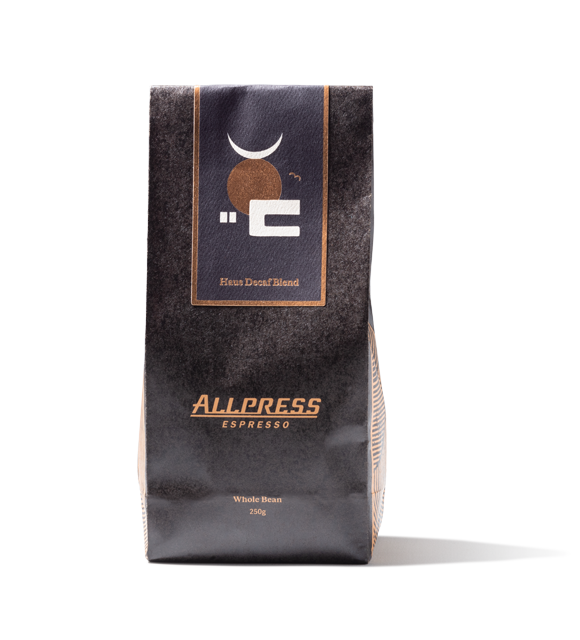 Allpress Espresso Haus Decaf Blend Whole Bean 250g