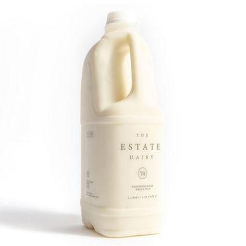 The Estate Dairy Whole Milk 2L