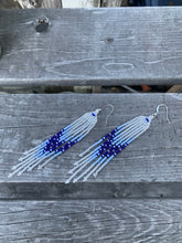 Load image into Gallery viewer, Winter Fringe Earrings