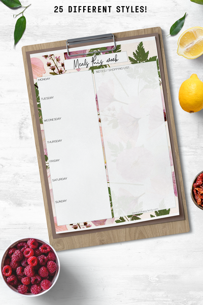 Meal Planning Fun Pack