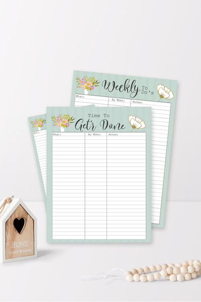 Get'r Done To-Do List
