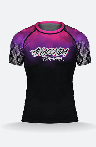 Purple Anaconda Rashguard
