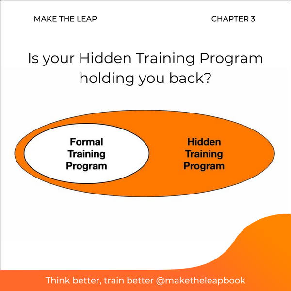 Is your Hidden Training Program holding you back?