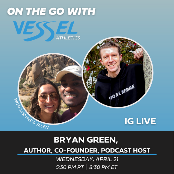 I Was a Guest on On the Go with Vessel Athletics