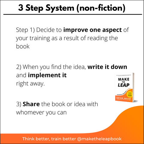 3-step system for reading non-fiction