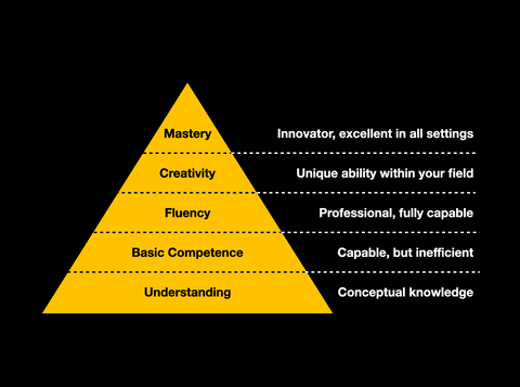 Five Levels of Mastery
