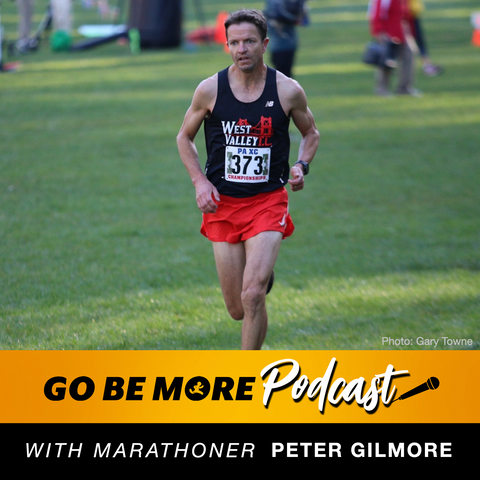 Peter Gilmore on the Go Be More Podcast