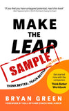 Make the Leap cover - Sample