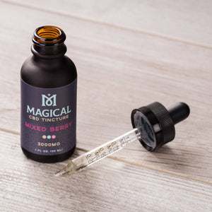 Mixed Berry CBD Tincture - 3000mg