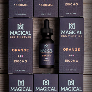 Load image into Gallery viewer, Orange CBD Tincture - 1500mg