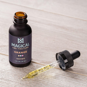 Orange CBD Tincture - 1500mg