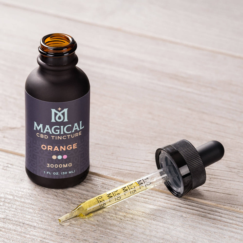Orange CBD Tincture - 3000mg