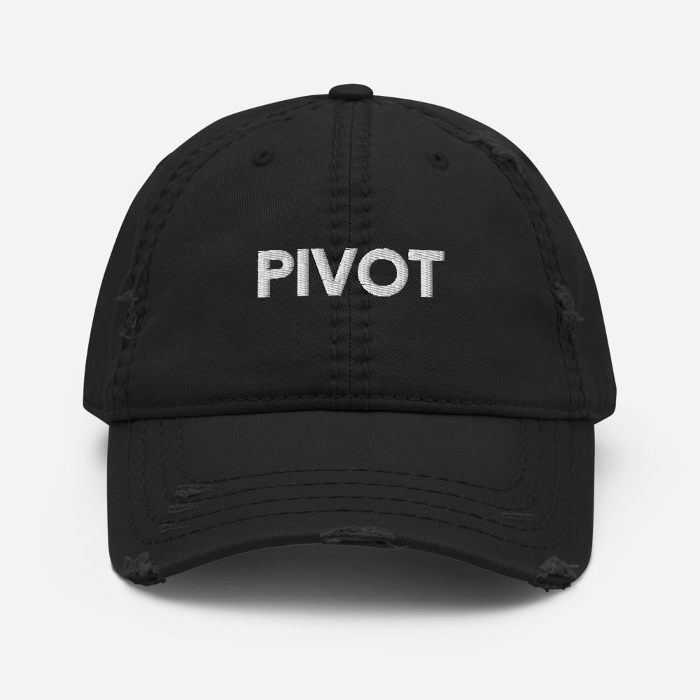 PIVOT - Distressed Dad Hat