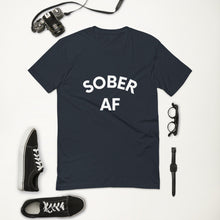 Load image into Gallery viewer, SOBER AF - Men's Short Sleeve T-shirt {available in multiple colors}