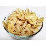 Un-Sweetened Banana Chips, 6 lbs
