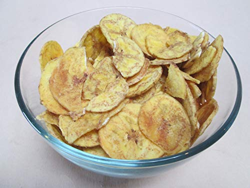 Roasted & Light Salted Plantain Chips, 6 lbs / bag