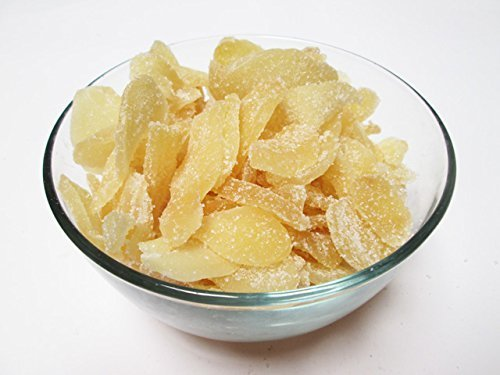 Crystallized Ginger Slices, 1 lb
