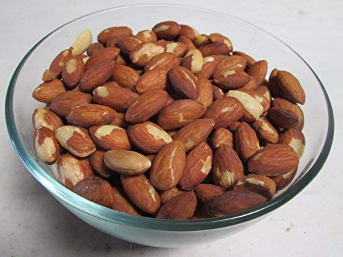 Roasted and Unsalted Almonds,  1 lb