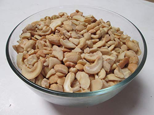 Roasted & Unsalted Cashew Pieces,  1 lb