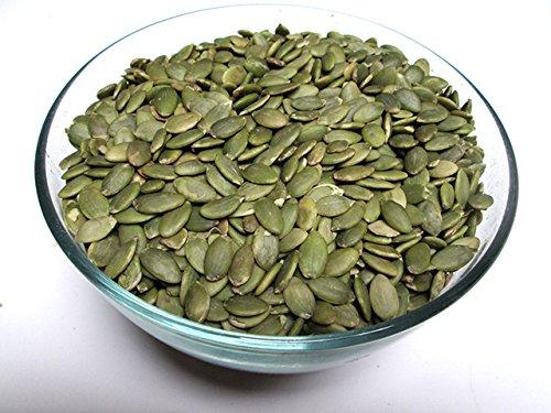 Raw Pepitas / Shelled Pumpkin Seeds, Grade AA, 2 lbs
