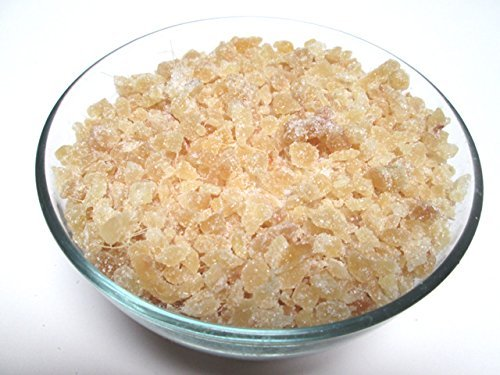 Crystallized Un-sulfured Ginger Dices, 5 lbs