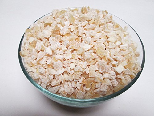 Glazed (Candied) Lemon Peel Granulated (Dices), 2 lb