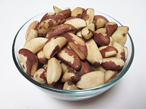 Organic Raw Shelled Brazil Nuts,  5 lbs