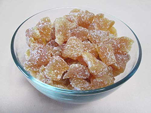 Natural Crystallized Ginger Chunks-Unsulfured, 5 lb