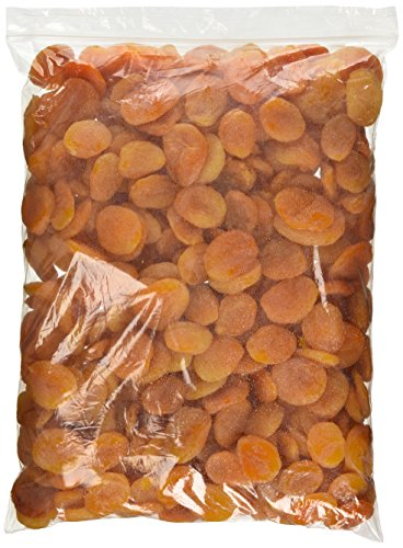 Dried Turkish Whole Apricots, 5  lbs