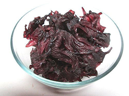 Dried Hibiscus Flowers, 2.2 pound bag