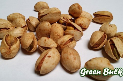 Garlic and Onion Pistachios in shell, 1 lb