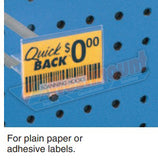 Quick Back® Flip Scan® Straight Entry Hooks 100pkg