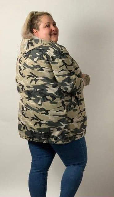 Camouflage Hooded Jacket