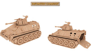 3D Puzzle, Vehicle Collection - Infantry Chariot