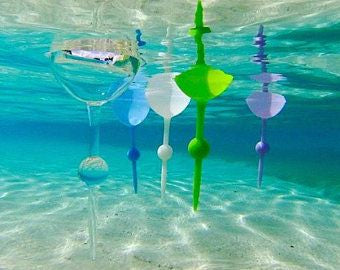 The Beach Glass - the original floating beach glass, Clear