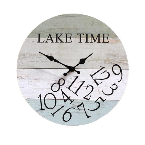 CLOCK - On Lake Time