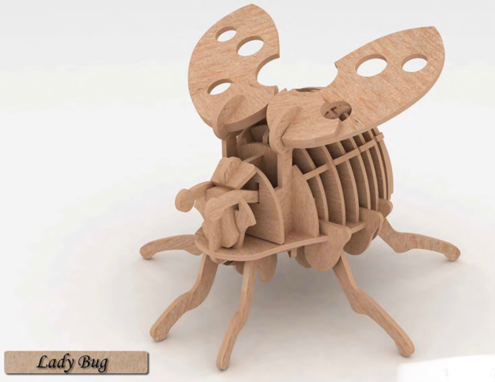 3D Puzzle- Insect Collection: Lady Bug