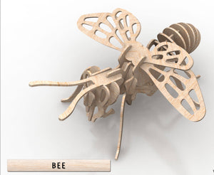3D Puzzle- Insect Collection: Bee
