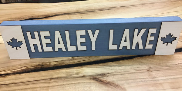 Otter Lake / Healey Lake / Horseshoe Lake Sign Block