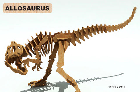 3D Puzzle- Dinosaur Collection: Allosaurus