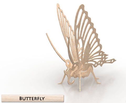 3D Puzzle- Insect Collection: Butterfly