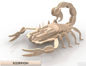 3D Puzzle- Insect Collection: Scorpion
