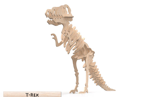 3D Puzzle- Dinosaur Collection: T-REX