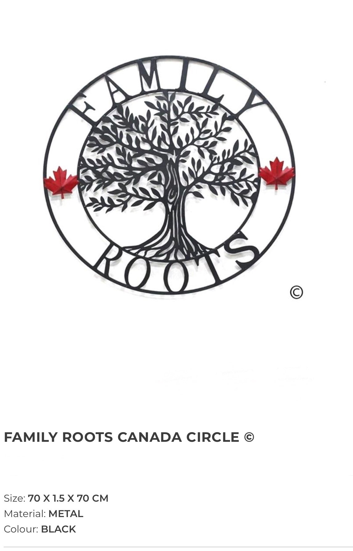 Family Roots - Canada